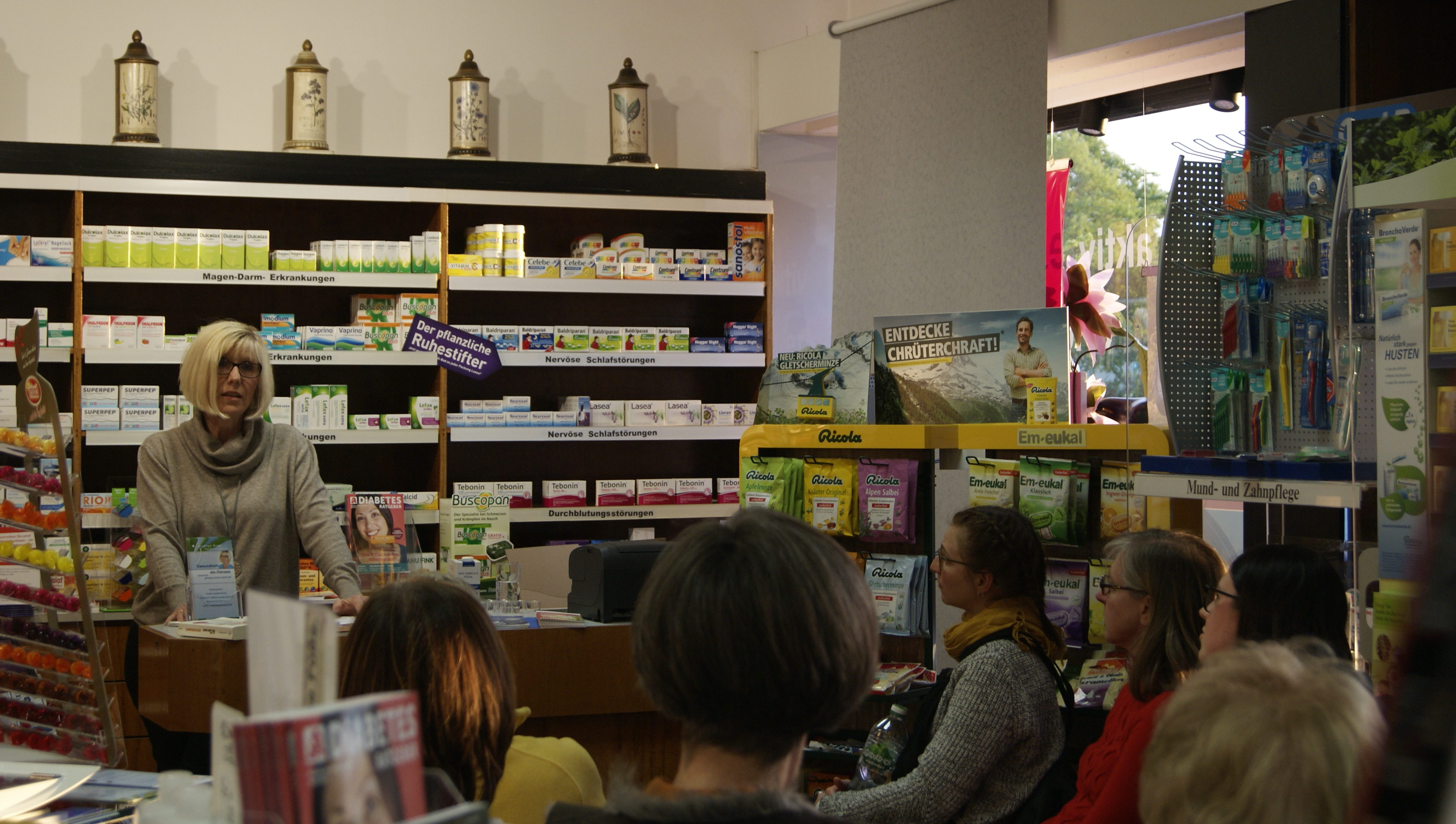 """Vortrag """"Wenn Essen krank macht"""", Foto: Gudrun Siep"""